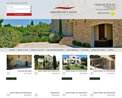 Agence immobilière Saint Rémy de Provence,...