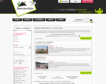 Immobilier Chateaurenard : Immo Diffusion...