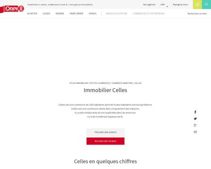 Immobilier Celles - Biens immobiliers vendus...
