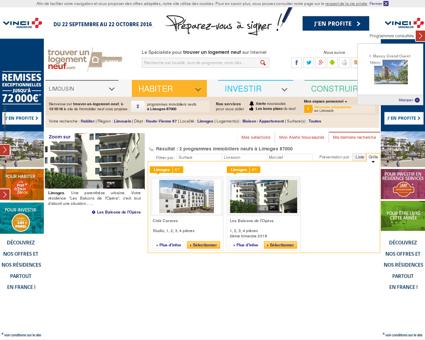Immobilier neuf Limoges | trouver-un-logement-neuf.com