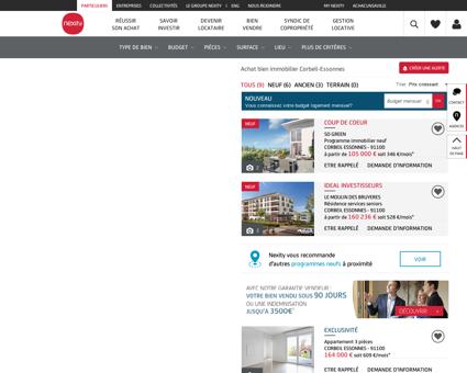 Achat bien immobilier Corbeil-Essonnes -...