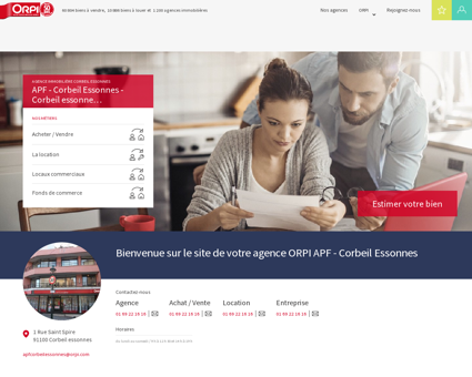 Agence immobilière Corbeil essonnes : APF -...