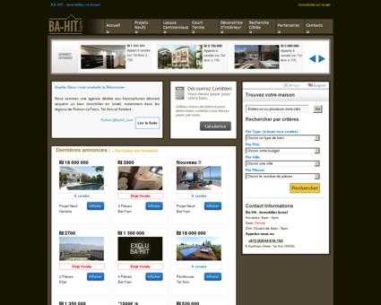 BA-HIT  Immobilier en Israel