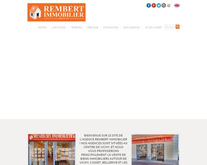 Rembert Immobilier, deux agences...
