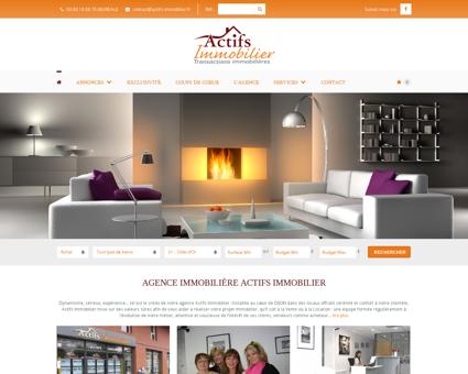 Agence immobilière ACTIFS IMMOBILIER à Dijon