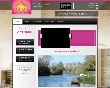 Agama Immobilier Chaniers