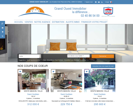Immobilier Saint Herblain, Nantes | Grand...