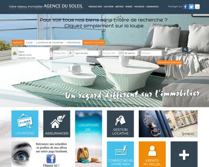 Agence Du Soleil - réseau immobilier pour...