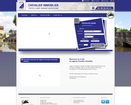 Immobilier St Amand - Chevalier Immobilier :...