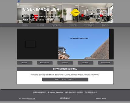 CIGEX Immobilier - Agence immobilière situé à...