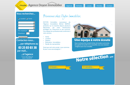 Doyon Immobilier Chaumont - Vente Location...