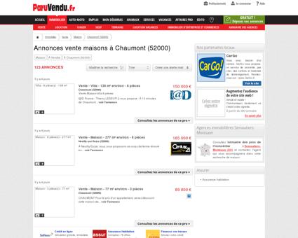 Vente maison à Chaumont (52000) : annonces...