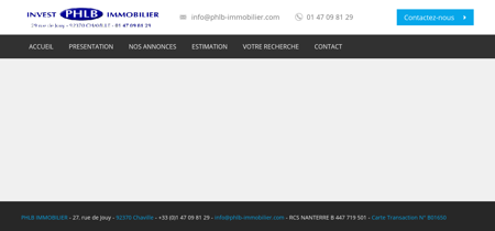 PHLB IMMOBILIER | agence immobilière Chaville