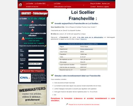 Loi Scellier Francheville, appartement neuf 69340