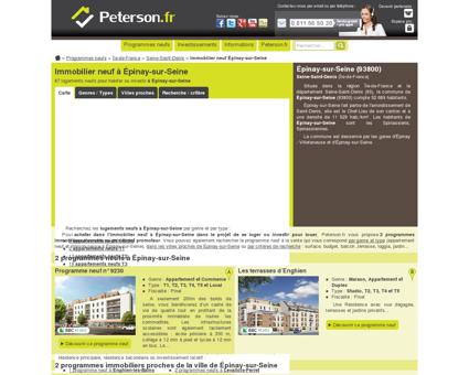 L'immobilier neuf à Épinay-sur-Seine : 3...