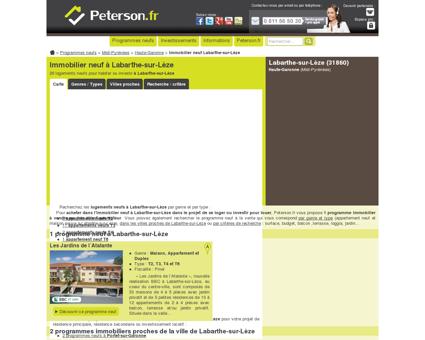 L'immobilier neuf à Labarthe-sur-Lèze : 1...