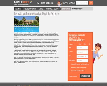 Investir en lmnp occasion Ozoir-la-Ferriere
