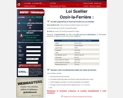 Loi Scellier Ozoir-la-Ferrière, appartement neuf...