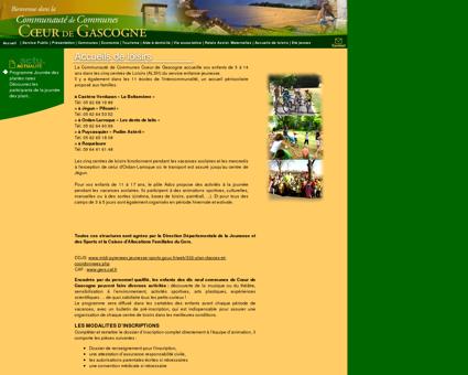 Gers Centres de loisirs communauté de...