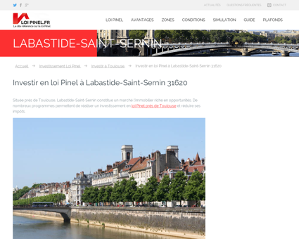 Loi Pinel Labastide-Saint-Sernin : Où investir...
