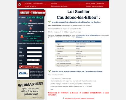 Loi Scellier Caudebec-lès-Elbeuf, appartement...