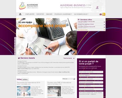 Auvergne Business : Agence Régionale de...