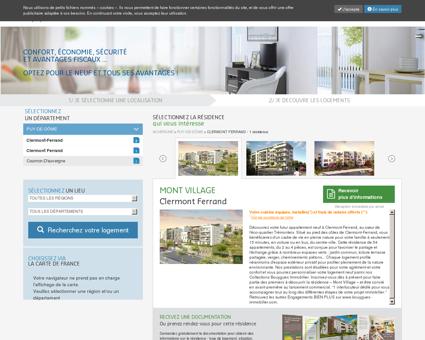 Logements neufs - Investir Clermont