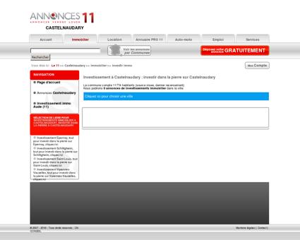 Investissement Castelnaudary (11400), investir...
