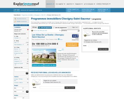 Programme immobilier neuf Chevigny-Saint...