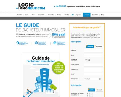 Confiez votre projet immobilier à Logic...