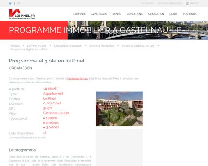 Programme à Castelnau-le-Lez :...