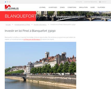 Loi Pinel Blanquefort : Où investir pour...