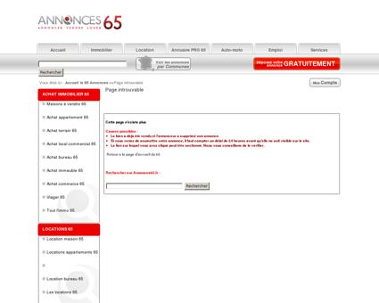 Investir immo Bagneres-de-bigorre 672500...