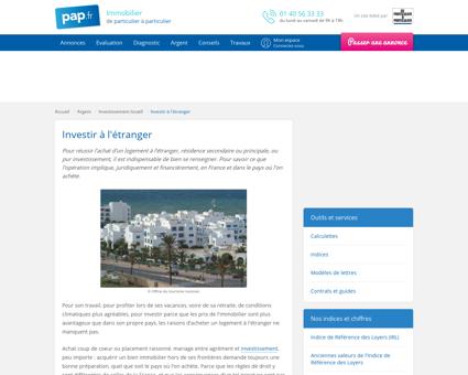Investir à l'étranger | De Particulier à Particulier ...