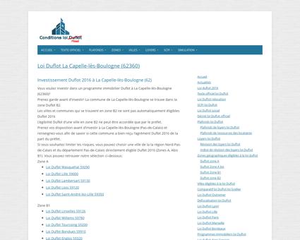 Loi Duflot La Capelle-lès-Boulogne (62360) -...