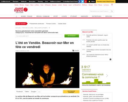 L'été en Vendée. Beauvoir-sur-Mer en fête ce...