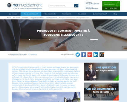 Pourquoi et comment investir à Boulogne...