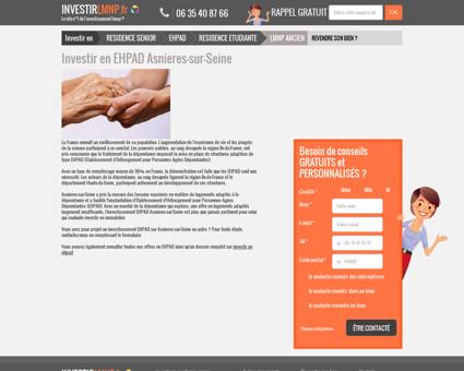 Investir en EHPAD Asnieres-sur-Seine