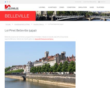 Loi Pinel Belleville : Où investir pour...