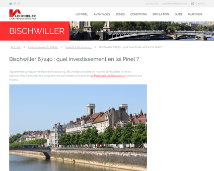 Loi Pinel Bischwiller : Où investir pour...