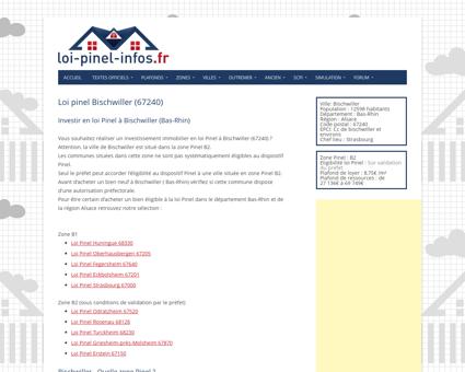 Loi pinel Bischwiller (67240) - Eligibilité, zone ...