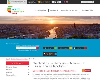 BARENTIN - Rouen Normandy Invest