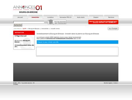 Investissement Bourg-en-Bresse (01000),...