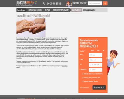 Investir en EHPAD Bagnolet