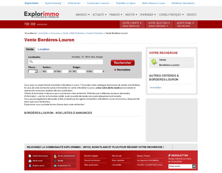 Vente immobilier Bordères-Louron : achat...