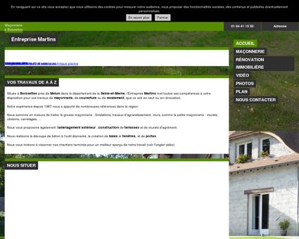 Maçonnerie (entreprises) - Entreprise Martins à...