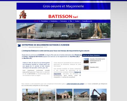 Entreprise Maçonnerie Batisson, gros oeuvre,...