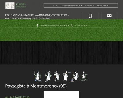 Paysagiste Montmorency - AU HASARD D'UN...