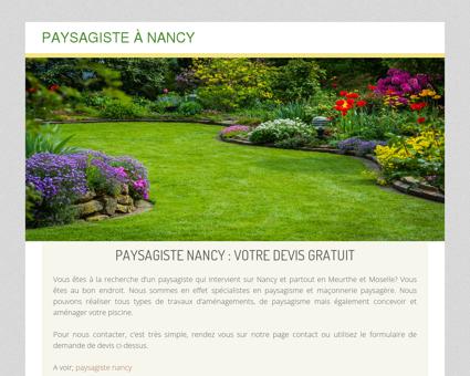 Paysagiste Nancy - Maçonnerie paysagère...
