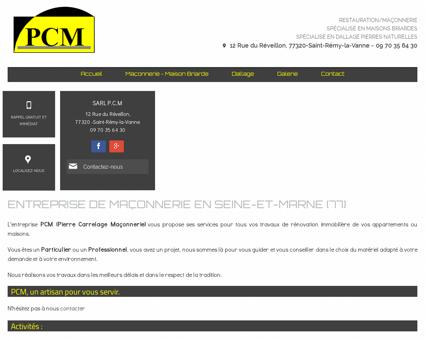 Entreprise de Maçonnerie (Seine-et-Marne)